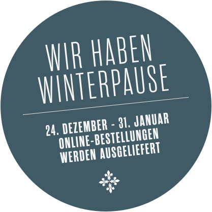 Winterpause vom 24.12.2018 - 31.01.2019